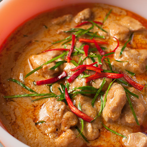 4- chicken in coconut curry