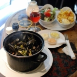 Mussels in Lemon-Coconut Broth