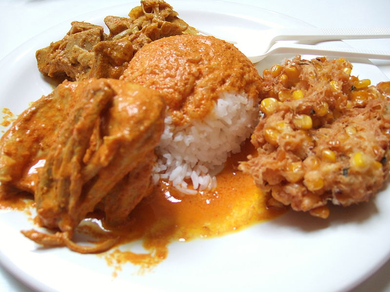 Chicken Curry with Apple
