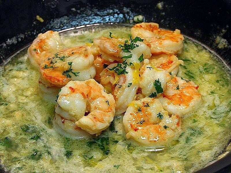 2-Garlic shrimp scampi