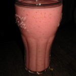 2-Strawberry coconut smoothie
