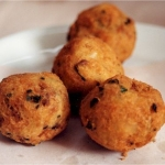 Spinach and Sweet Potato Balls
