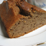 Fitness Banana Cardamom Bread
