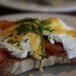 3-poached eggs and lox