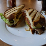 Avocado and Bacon Sandwich
